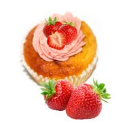 Banting-strawberry-cupcakes