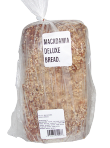 Deluxe macadamia seeded bread