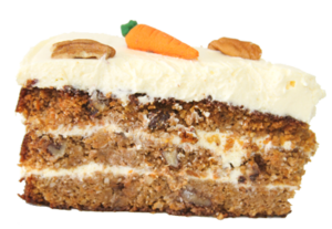 Banting carrot cake slice