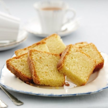 Banting lemon madeira loaves