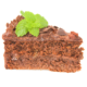 Banting deluxe chocolate cream cake slice