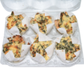 Banting spinach and cheese muffins