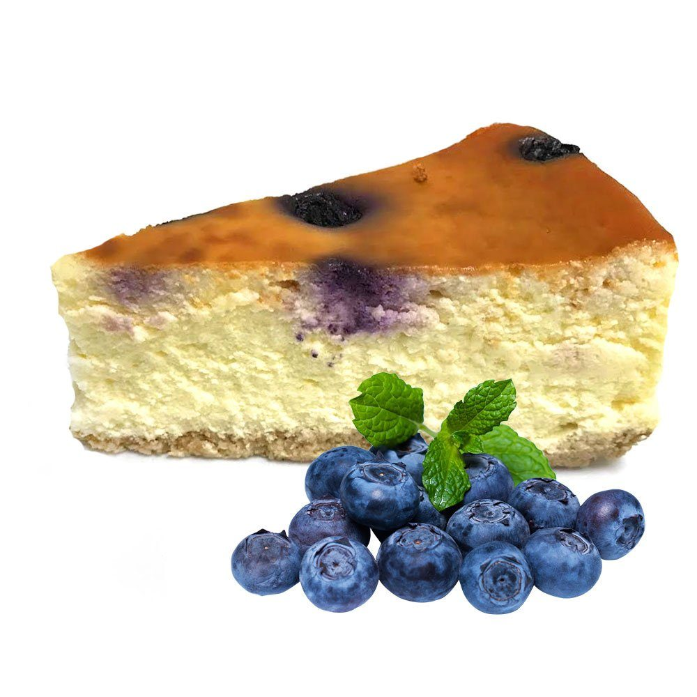 banting-blueberry-baked cheesecake