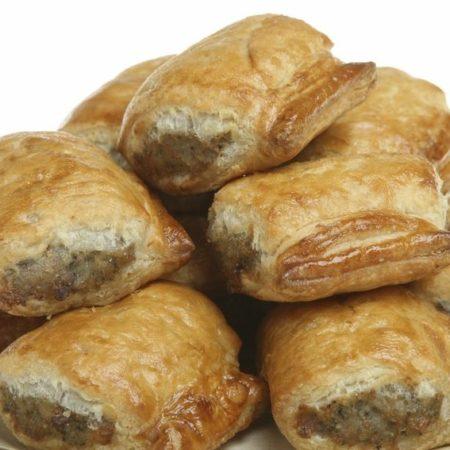 Banting sausage rolls