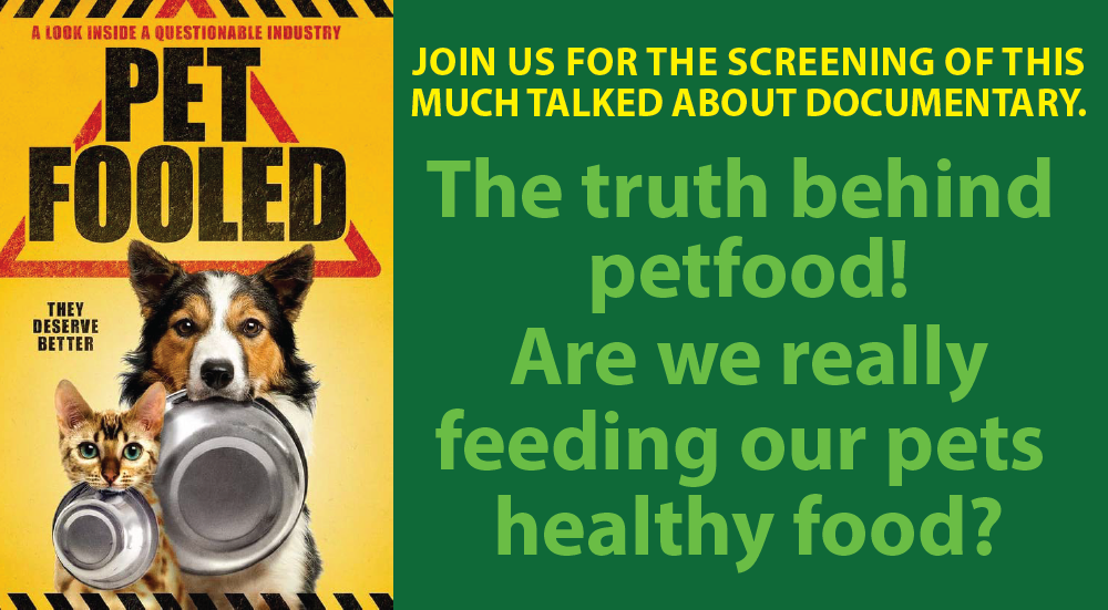 Pet Fooled Documentary Screening with Dr Jane Fraser