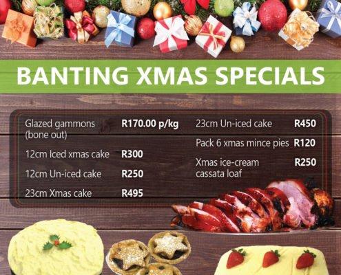 Loafers- Banting Christmas-menu