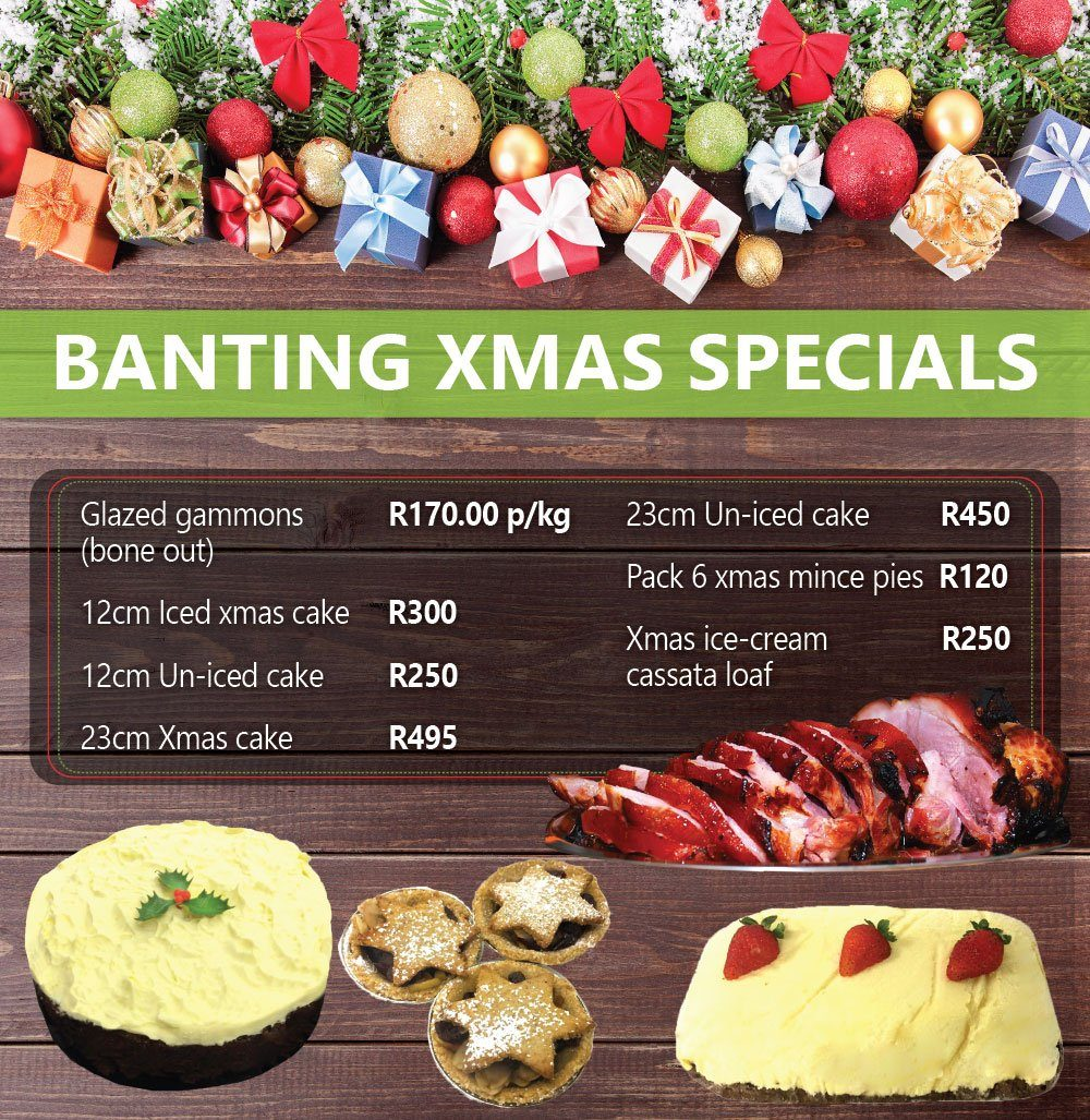 Loafers- Banting Christmas-menu