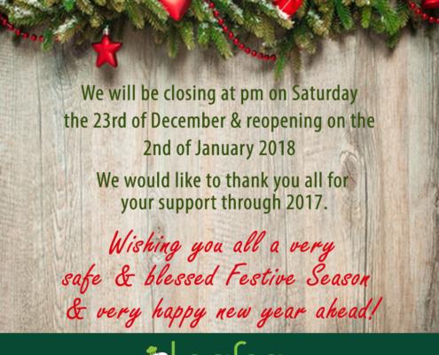 safe & blessed Festive Season
