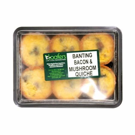 Banting-Bacon-&-Mushroom-Quiche