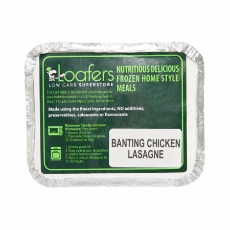 Banting chicken lasagne
