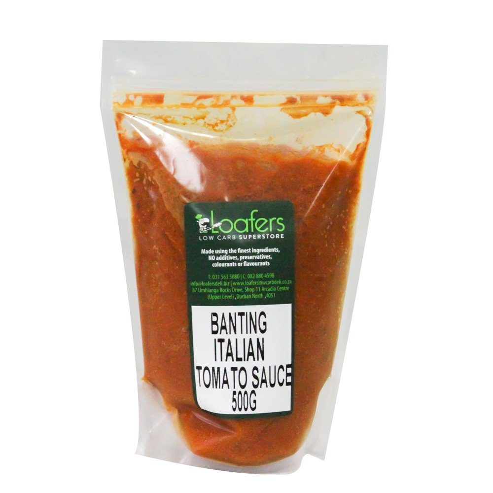 Banting Italian Tomato sauce 500g