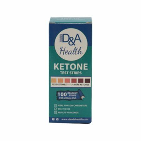 D&A Health - Ketone Test Strips