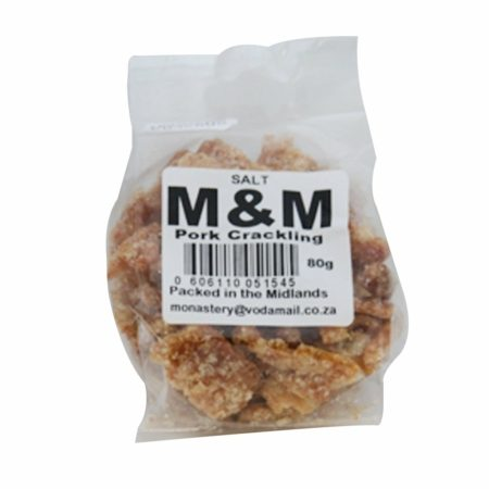 M&M Pork Krakeling Salt (80g)