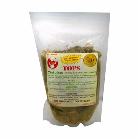 Tops - Thai Style Exotic Green Curry Sauce