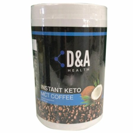 D&A HEALTH Instant Keto MCT Coffee