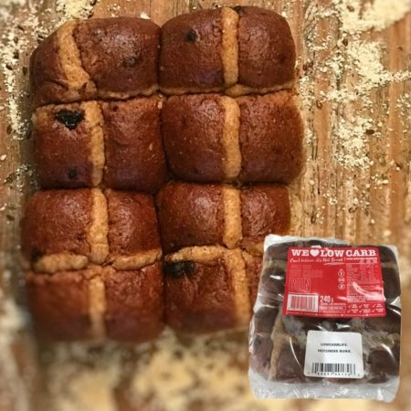 We Love Low Carb - Hotcross Buns