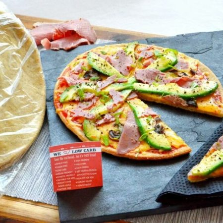We Love Low Carb -Pizza Bases - 2 pizzas per pack