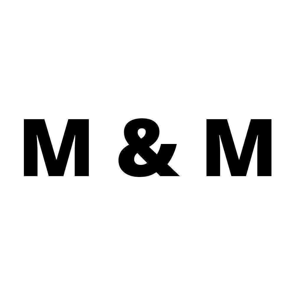M&M pork crackling logo